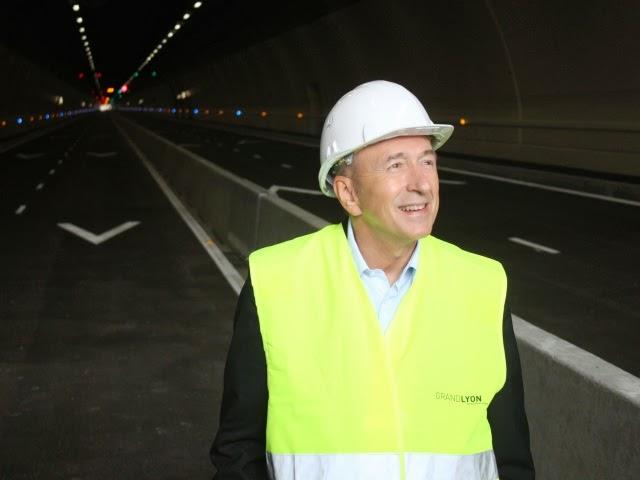 Municipales à Lyon : Collomb annonce l'arrivée du métro sur les hauteurs du 5e arrondissement !