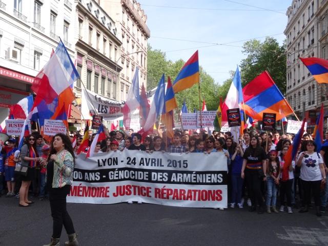 Commémoration du génocide arménien : 3500 personnes réunies à Lyon