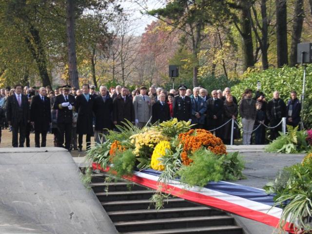 La commémoration du 8 mai 1945 à la Tête d'Or
