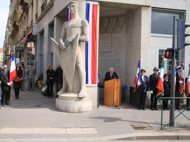 Lyon : un hommage rendu ce dimanche aux victimes et héros de la Déportation