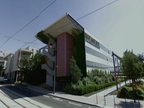 Le lycée Condorcet, à Saint-Priest - DR Google Maps