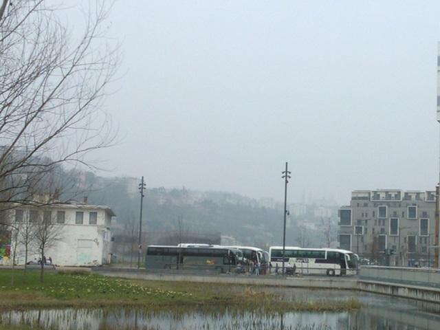 Une pollution aux particules fines en cours dans le bassin lyonnais