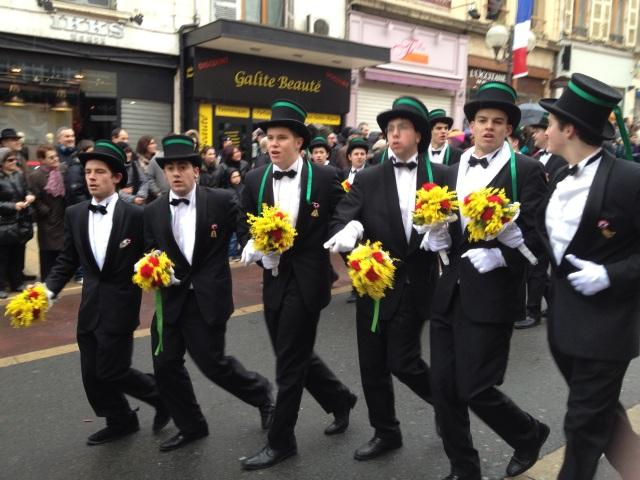 Les conscrits mis à l'honneur ce dimanche à Villefranche