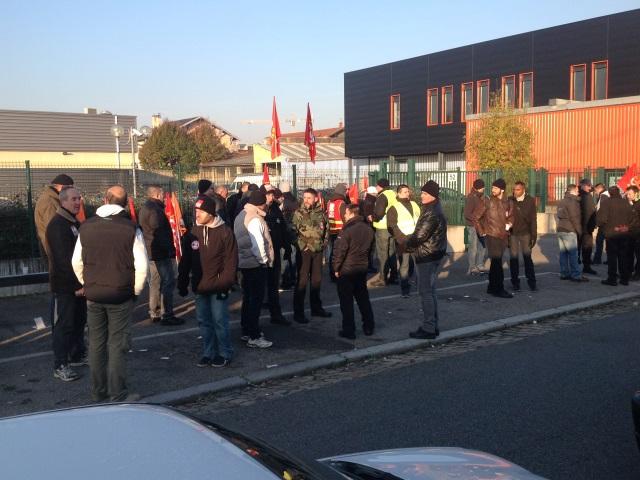 Lyon : les convoyeurs de fonds dans la rue