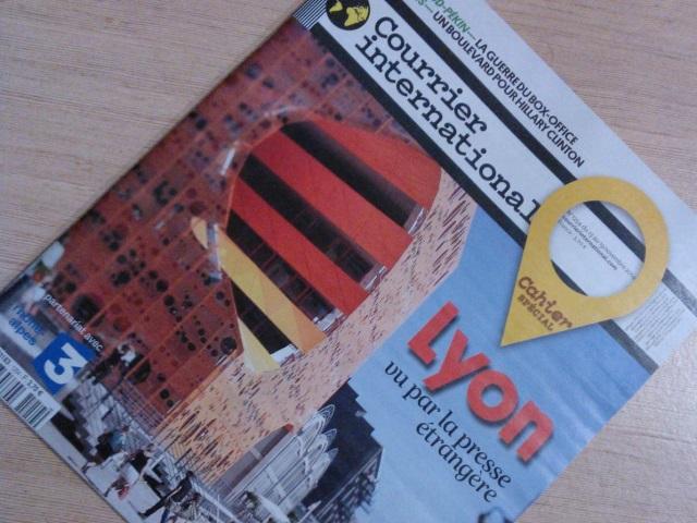 Lyon vue par la presse étrangère dans Courrier International