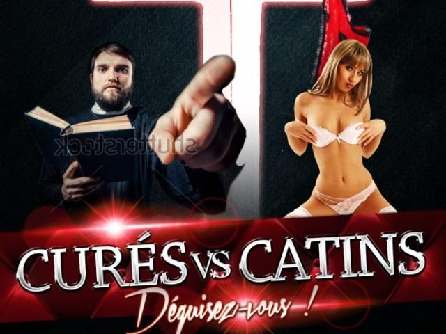 """Le FN du Rhône demande l'interdiction des visuels de la soirée lyonnaise """"Curés vs Catins"""""""