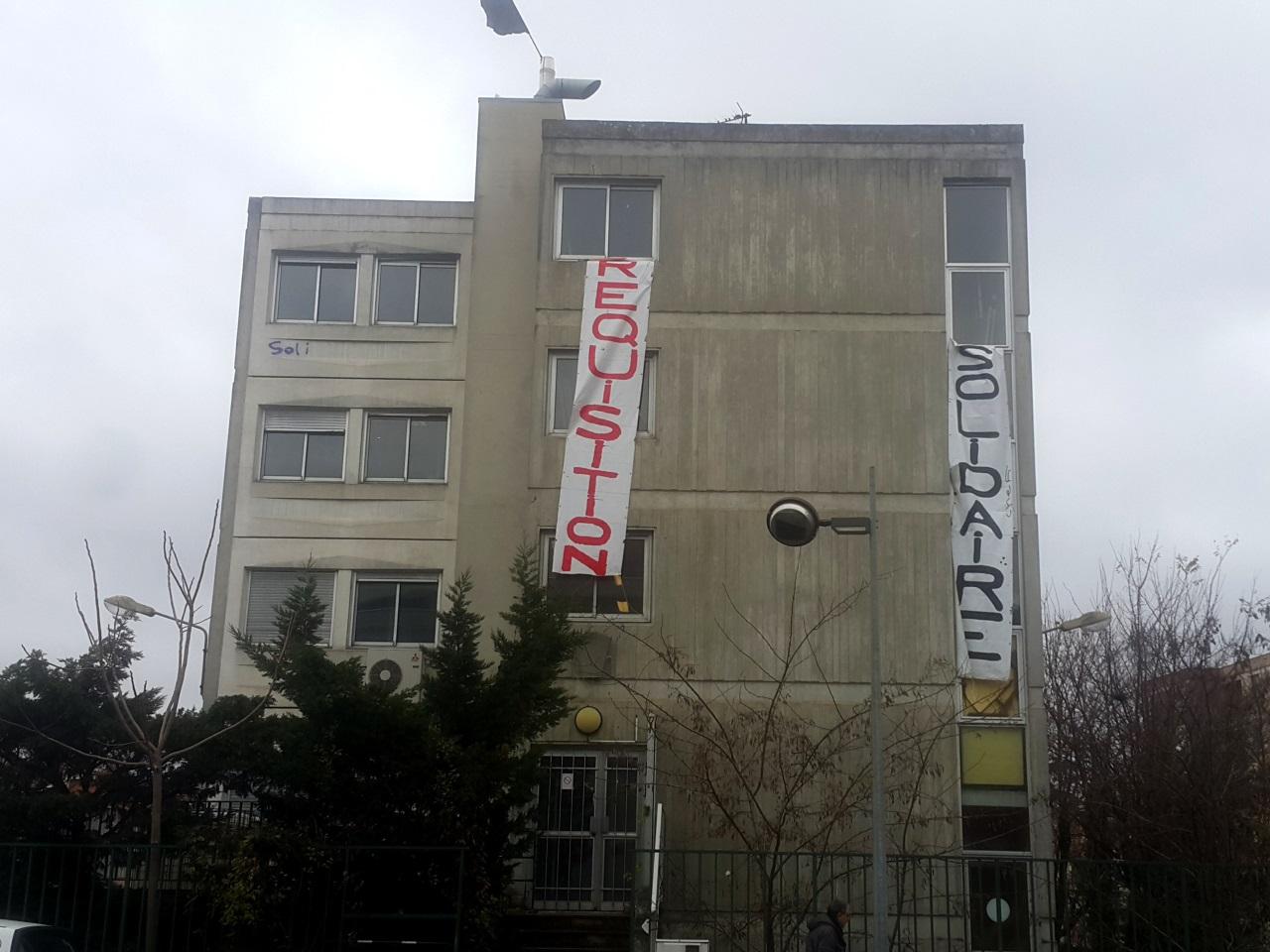 C'est dans ce bâtiment de Villeurbanne que les migrants vont désormais loger - LyonMag