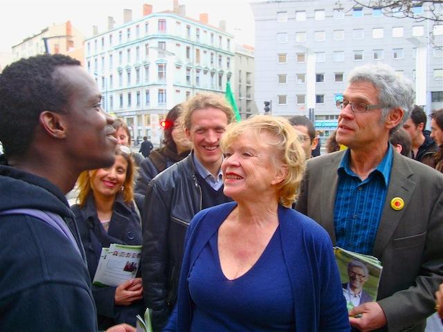 Eva Joly veut mettre hors-jeu « l'oligarchie nucléaire en France »
