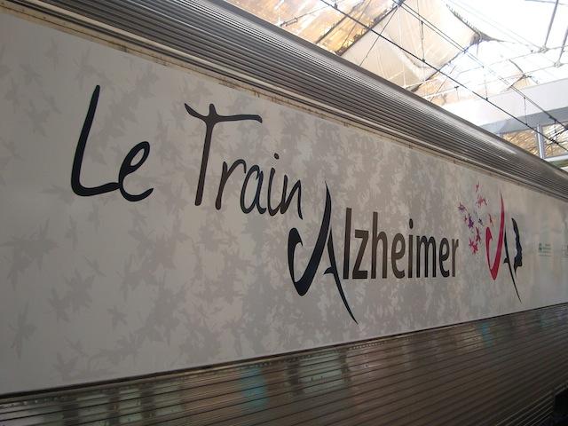 Le train Alzheimer fait étape à Lyon