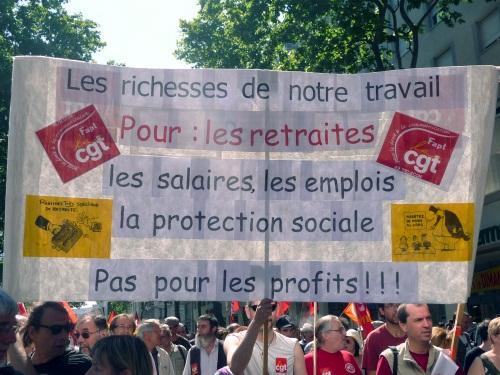 Manifestation bien suivie à Lyon