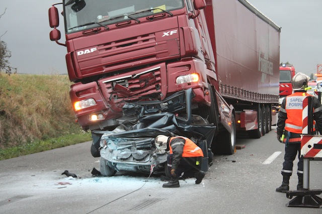 Un Accident Mortel Sur L A43