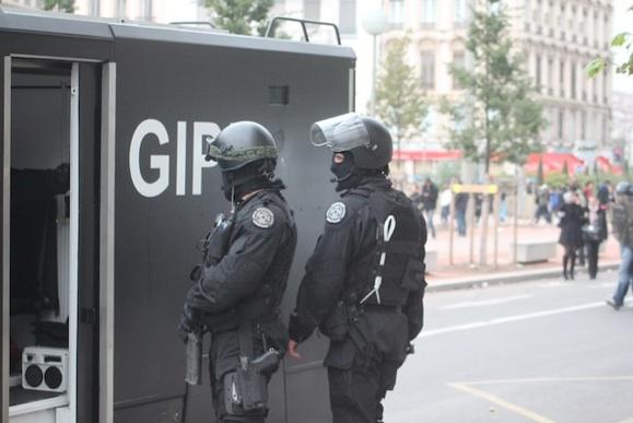 Le GIPN a du intervenir samedi dans le 3e arrondissement