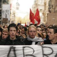 La manifestation des lycéens dégénère
