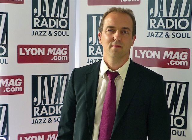 David Picot, invité de Jazz Radio et Lyonmag.com - Photo Lyonmag.com