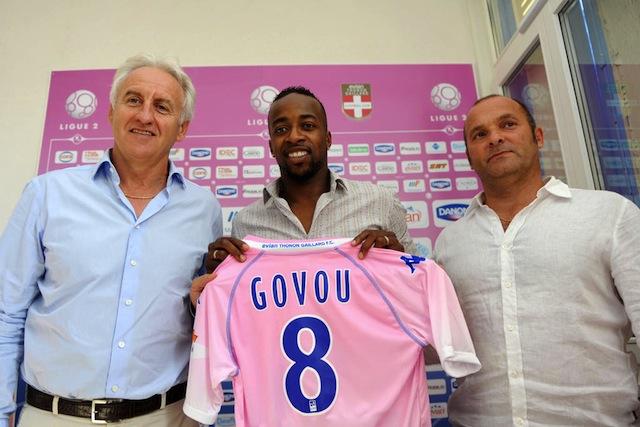 Sidney Govou officiellement à Evian-Thonon-Gaillard