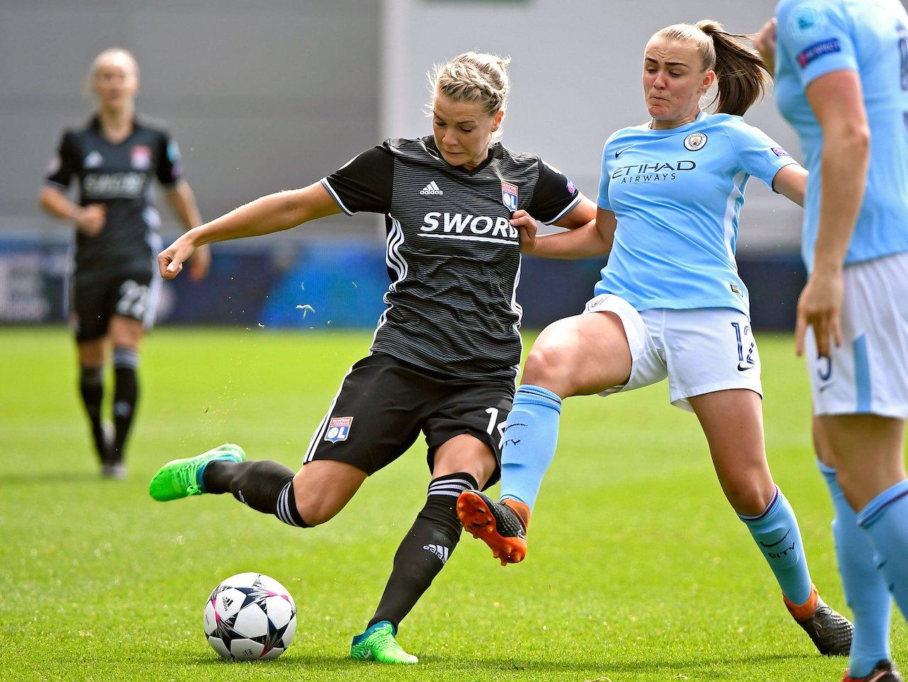 L'OL féminin accroché sur la pelouse de Manchester City — Ligue des champions