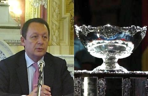 Coupe Davis : « Gérard Collomb et moi avons un gros défaut, nous ne lâchons rien ! »