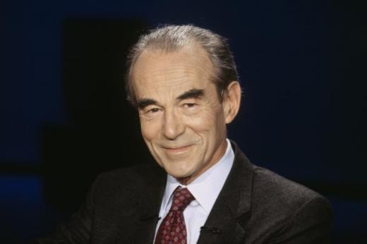 Jean-Jack Queyranne reçoit Robert Badinter au Transbordeur