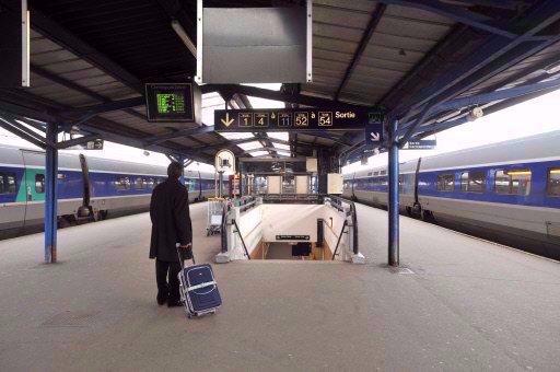 6e jour de grève à la SNCF