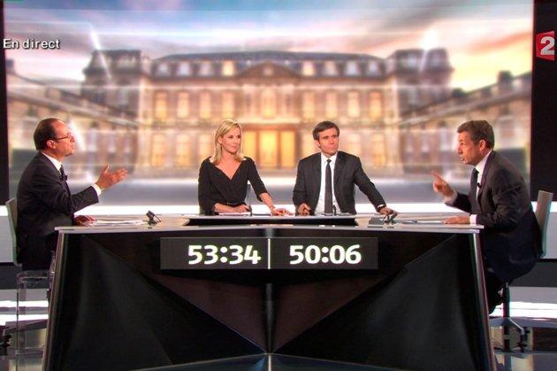 Sarkozy / Hollande : les temps forts d'un débat sous haute-tension (vidéo)