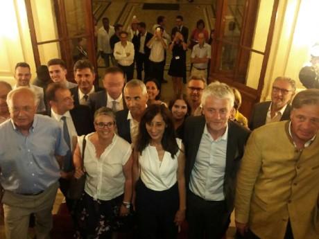 Les députés LREM le soir du 2e tour des législatives à la Préfecture du Rhône - Lyonmag.com
