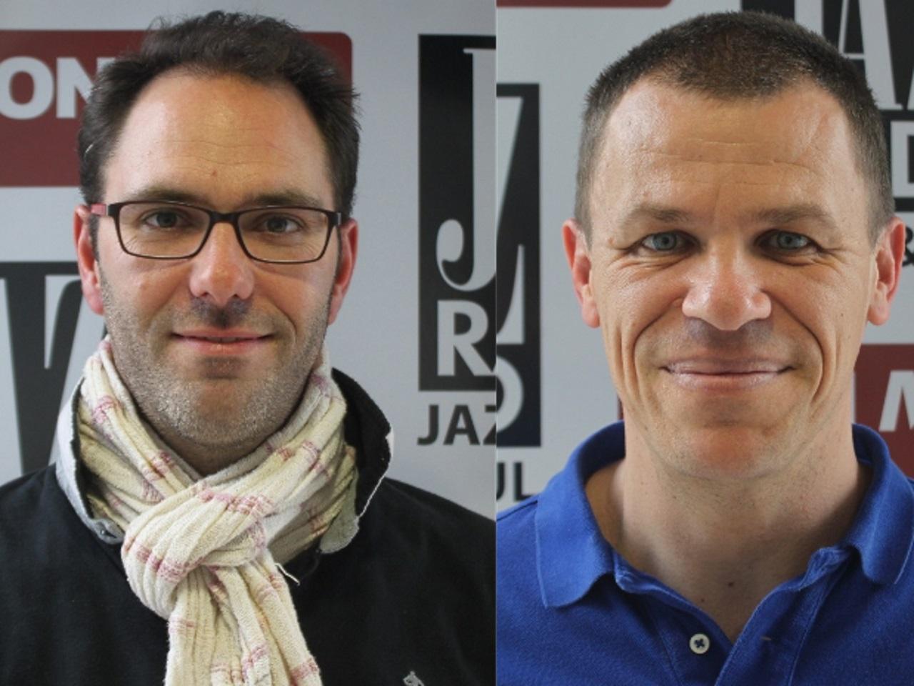François Devaux et Bertrand Virieux - Montage LyonMag