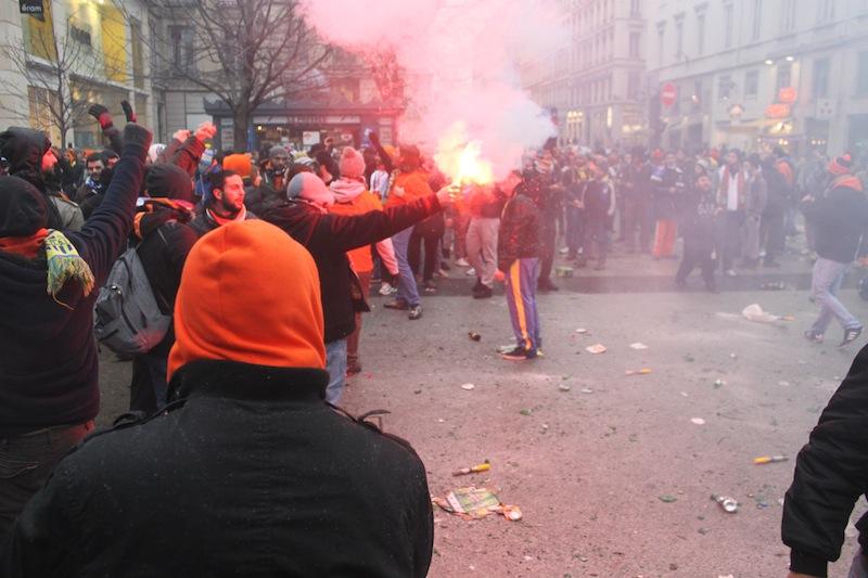 Derby OL-ASSE : lourdes sanctions pour trois supporters