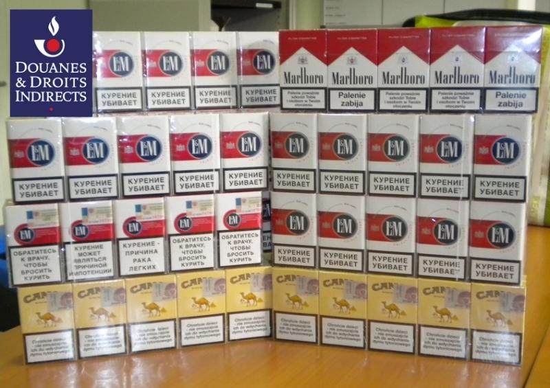 430 cartouches de cigarettes saisies à l'aéroport de Lyon
