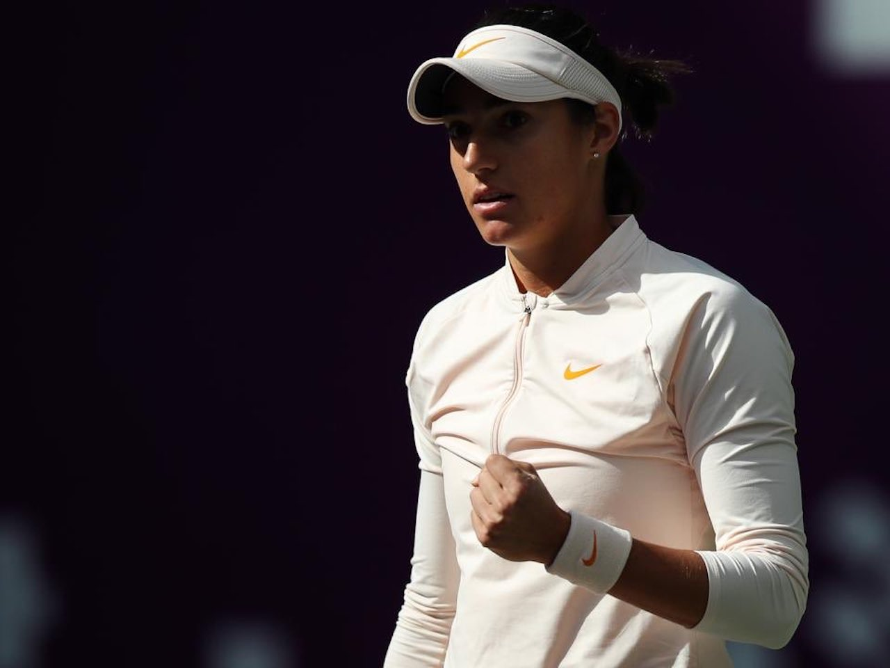 Caroline Garcia qualifiée pour la finale — Tianjin