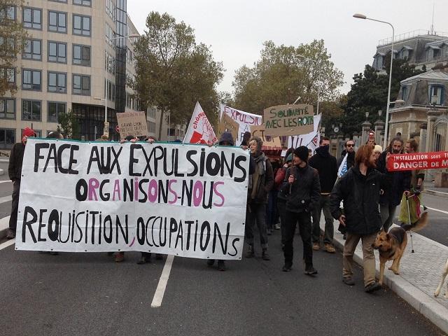 Lyon : 200 personnes manifestent pour le droit au logement