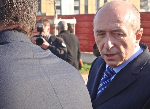 Gérard Collomb réagit à la mort du député Olivier Ferrand