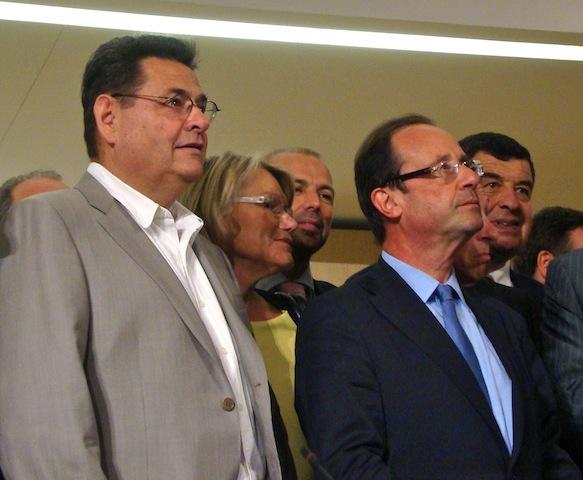 Hollande en tête à Villeurbanne : Bret « heureux »