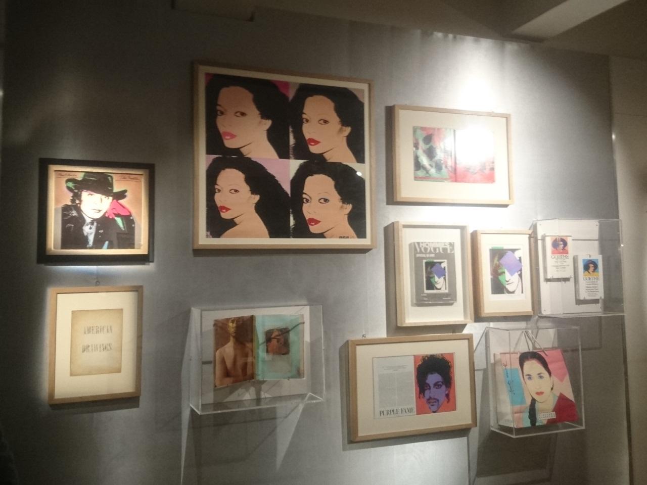 Andy Warhol a travaillé sur de nombreux suports différents - LyonMag