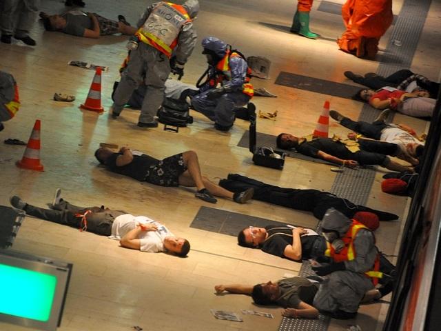 Exercice de sécurité : le métro B va exploser à Oullins