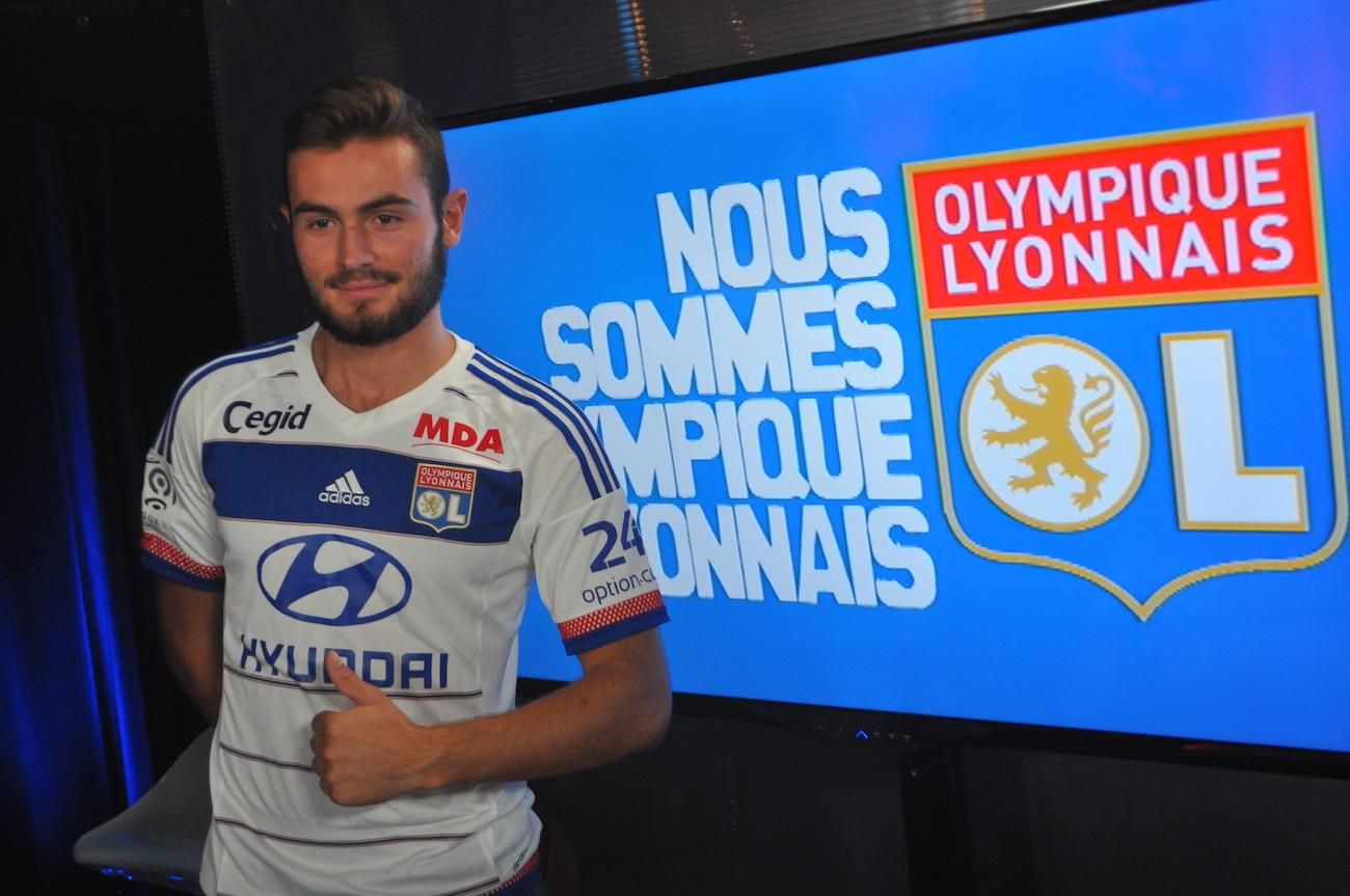 Lucas Tousart se laisse du temps pour s'adapter à son nouvel environnement - LyonMag