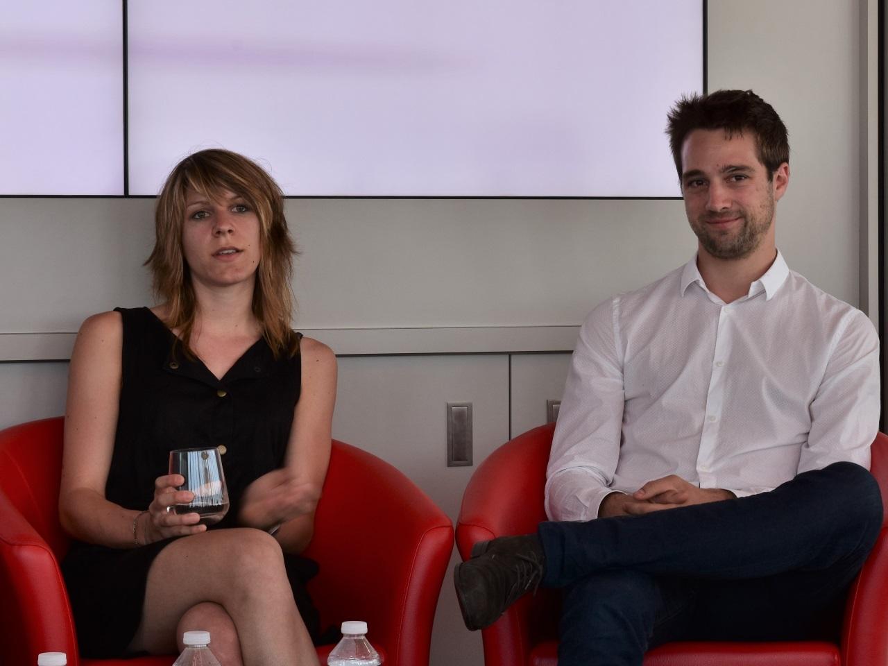 Joanna Faulmeyer et Thomas Dournet, les fondateurs de Kidygo - LyonMag