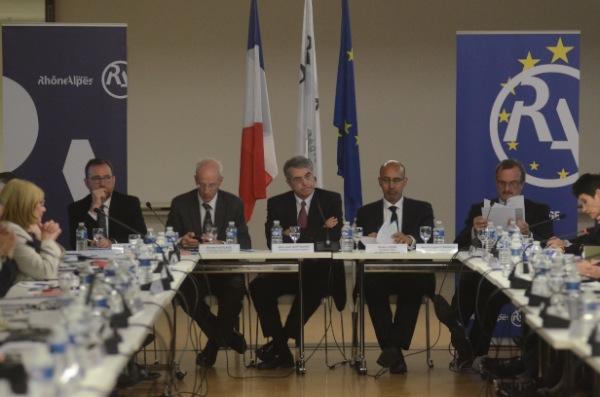 La région Rhône Alpes reprend à l'Etat la gestion des fonds européens sur son territoire