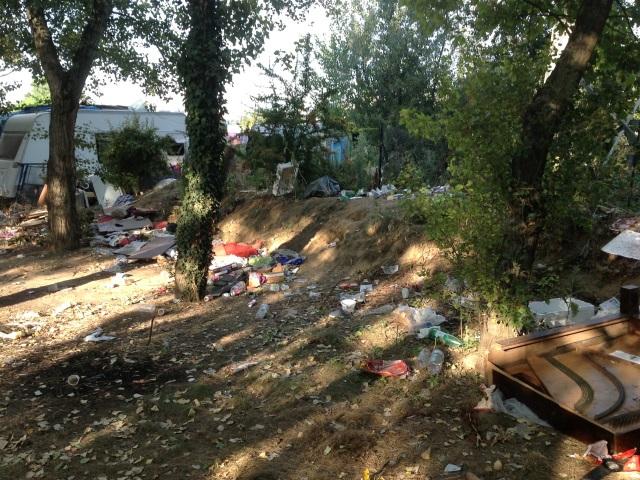 Les services de la Ville devront nettoyer le camp après son évacuation - LyonMag