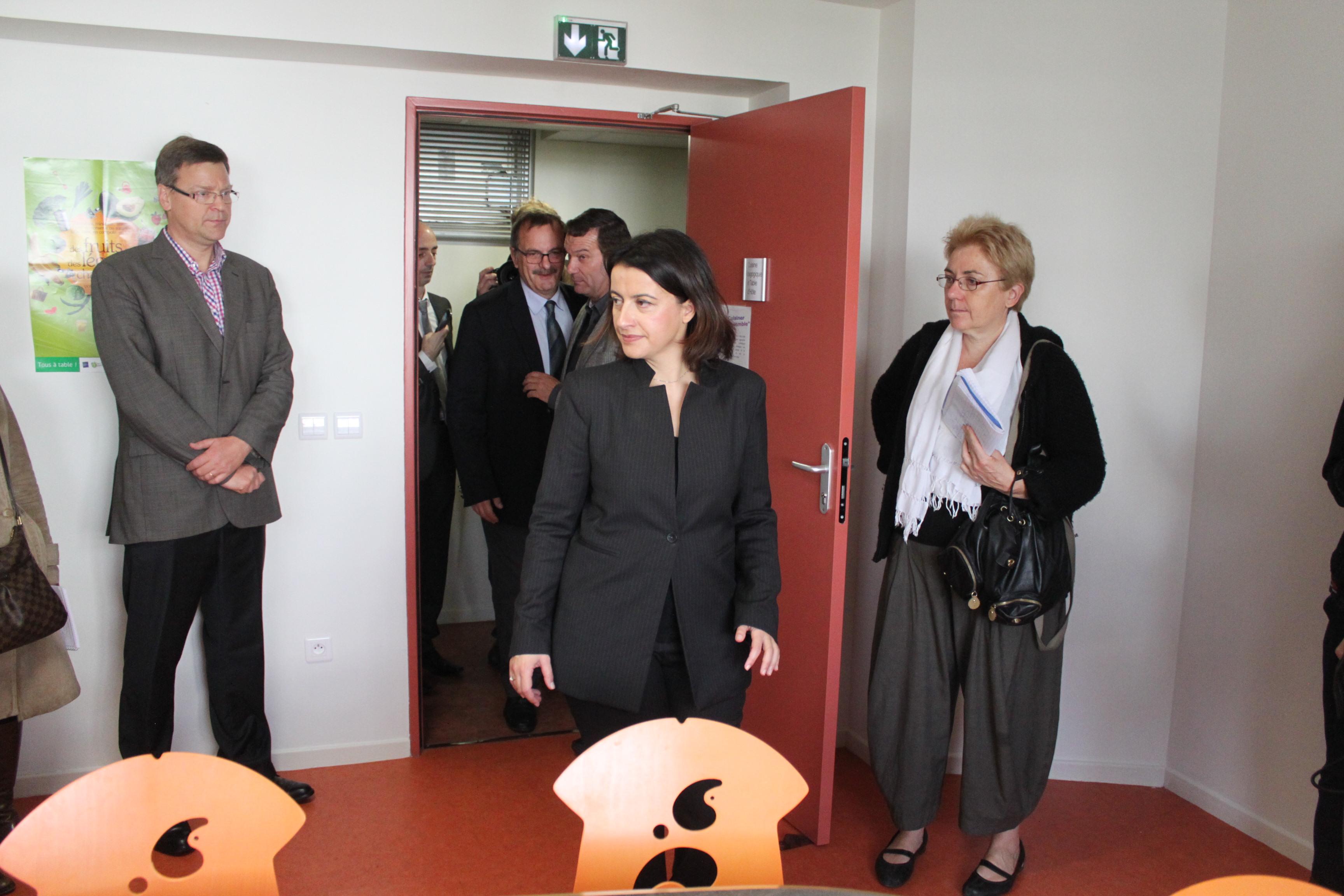 Cécile Duflot jeudi matin à Lyon - LyonMag