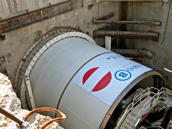 Sortie de terre reportée pour le tunnelier Gerland-Oullins