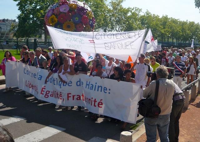 Les lyonnais se mobilisent contre le « racisme d'Etat »