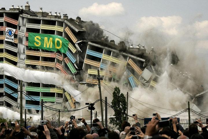 Lyon : la dernière barre des Mille de la Duchère sera démolie le 2 juillet