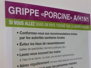 La grippe A n'est pas la bienvenue sur les bancs de Lyon I