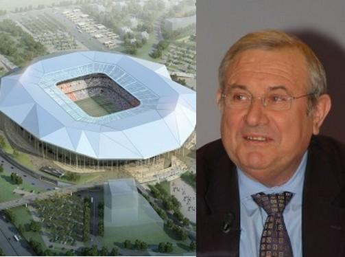 OL Land : Michel Forissier veut suivre l'exemple strasbourgeois
