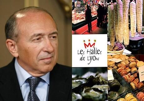 Gérard Collomb entend remettre les Halles de Lyon «dans les clous»