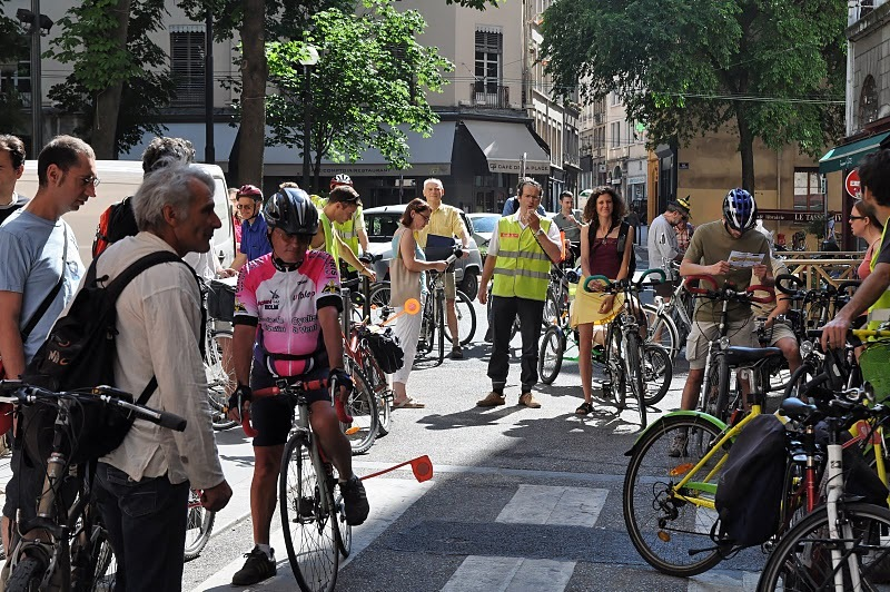 Le torchon brûle entre la Ville de Lyon et les cyclistes