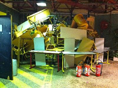 Le campus de Lyon II à Bron, victime d'importantes dégradations, restera fermé jusqu'à vendredi