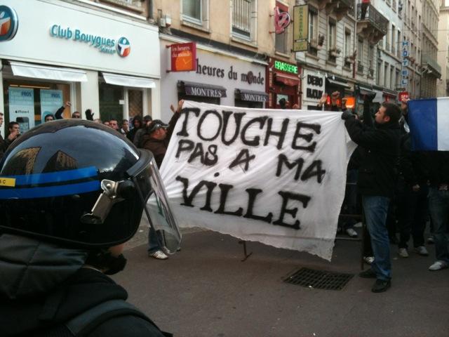 Manifestations à Lyon : au tour des Identitaires !