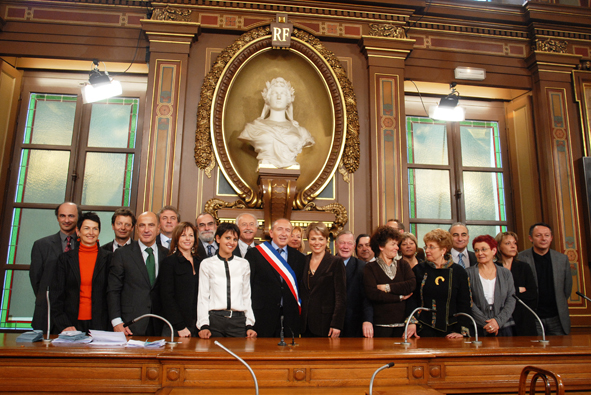 Les 21 adjoints de Gérard Collomb