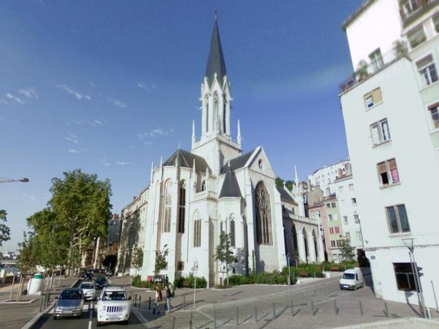 Lyon : un bloc de pierre s'effondre à l'intérieur de l'église Saint-Georges